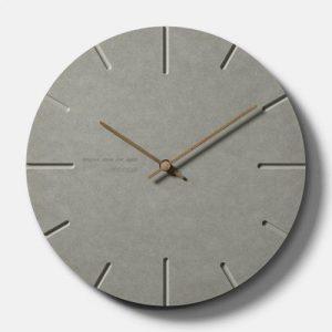 Circle MDF Clock