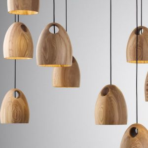 Wooden Hanging Lights