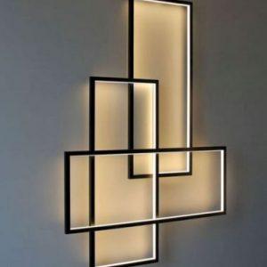 Decoration Rectangle Wall Light