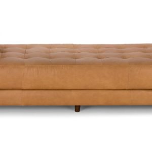 Modern i shape sofa living room in Leather