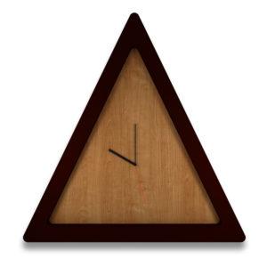 Triangle Decor Clock