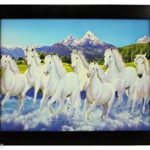 Spiritual Horse Canvas Painting
