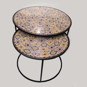 mosaic pattern table