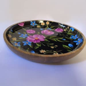 wooden bowl printed