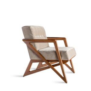 modern Rocking wooden chair