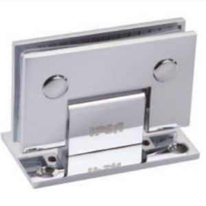 Wall to glass 90 degree Hinge (One side) by Glassera