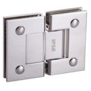 Glass to glass hinge 180 degre by Glassera
