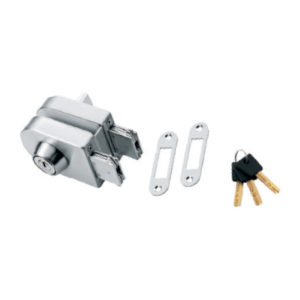 GLASS LOCK ONE SIDE KEY ONE SIDE BUTTON FOR 8 TO 12MM (LASER KEY) (SS 304)