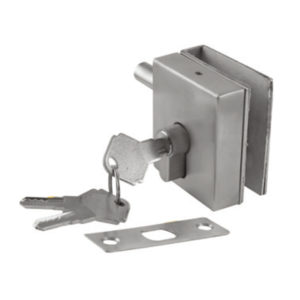 GLASS LOCK ONE SIDE KEY FOR 8 TO 12MM (SS 304)
