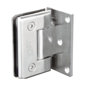 WALL TO GLASS HINGES ONE SIDE PLATE (ZINC) FOR 8 TO 12MM
